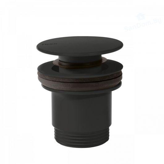 Донний клапан Tres click-clack 24284001NM чорний матовий